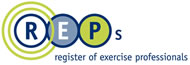 REPs. Register of Exercise Professionals.